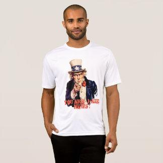 -擬似ニュースです! Tシャツ