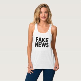 擬似ニュースの流行のポストの真実 タンクトップ