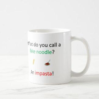 擬似ヌードルの冗談 コーヒーマグカップ
