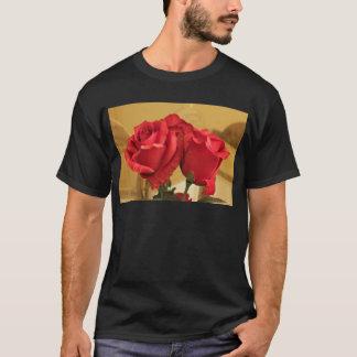 擬似プラスチックバラ Tシャツ