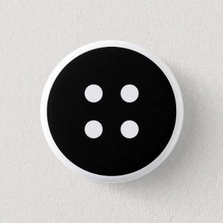 擬似ボタン 3.2CM 丸型バッジ