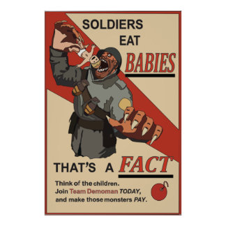擬似ロシア人WW1のプロパガンダポスター ポスター