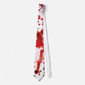 擬似血の(ばちゃばちゃ)跳ねる ネクタイ
