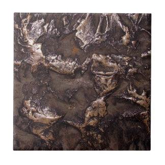 擬似青銅色の石造りの質 タイル