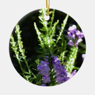 擬似Foxgloveの花 セラミックオーナメント