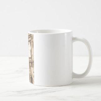 支えられた修道士のパブロンドン コーヒーマグカップ