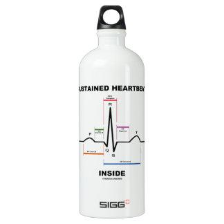 支えられた心拍の内部(ECG/EKG) ウォーターボトル