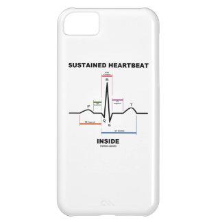 支えられた心拍の内部(ECG/EKG) iPhone5Cケース