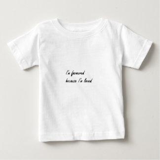 支持され、愛された範囲 ベビーTシャツ