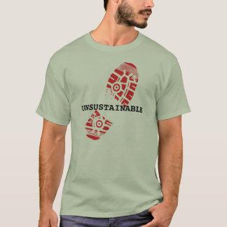 支持できない Tシャツ
