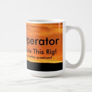 """改修の装備オペレータ""""私は支配しますこの装備""""を コーヒーマグカップ"""