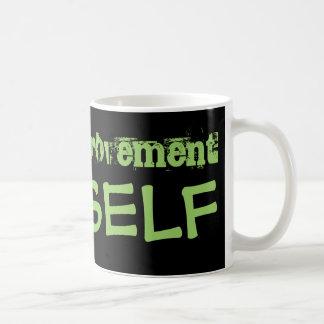 改築は自己で始まります コーヒーマグカップ