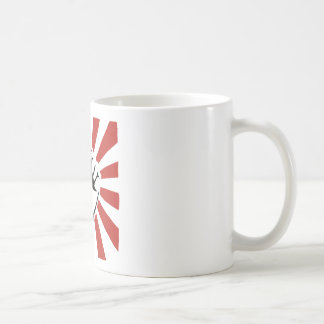 改革の握りこぶし コーヒーマグカップ