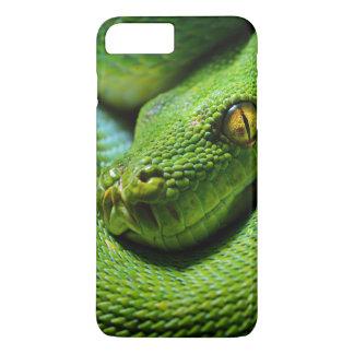 攻撃するために待っている恐い木の大蛇 iPhone 8 PLUS/7 PLUSケース