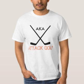 攻撃のゴルフ Tシャツ