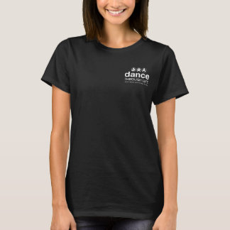 攻撃のタップ- Tシャツ-カラーサークルの足 Tシャツ
