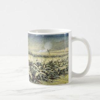 攻撃の前。 Vasily Vereshchagi著Plevna コーヒーマグカップ
