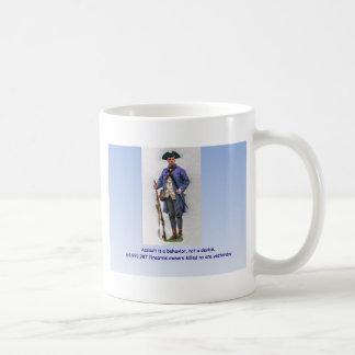攻撃は行動ない装置です コーヒーマグカップ