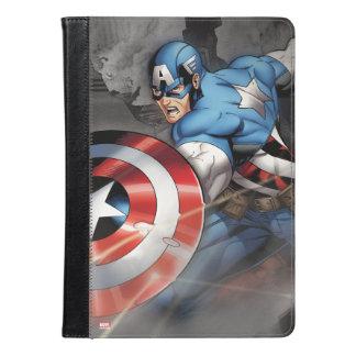 攻撃を逸らすアメリカ大尉 iPad AIRケース