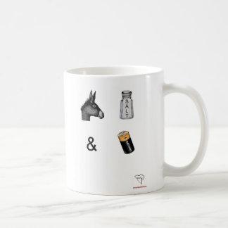攻撃及び電池のマグ コーヒーマグカップ
