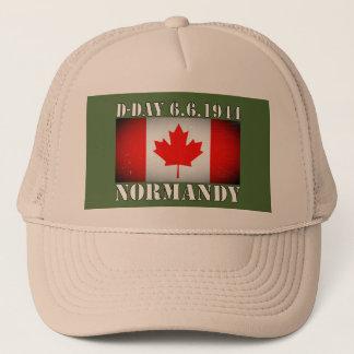 攻撃開始日のカナダの旗の6月の6日1944日帽子 キャップ