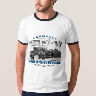 攻撃開始日第70記念日のノルマンディー上陸作戦 Tシャツ