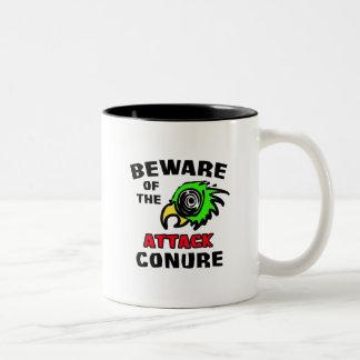 攻撃Conure ツートーンマグカップ