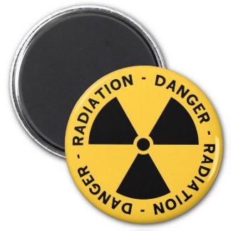 放射の記号の磁石 マグネット