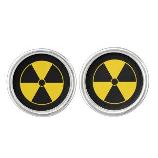放射の記号 カフリンク