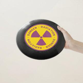放射の警告標識 Wham-Oフリスビー