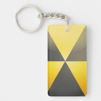 放射危険 キーホルダー