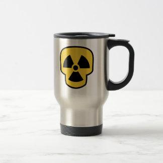 放射性スカル トラベルマグ