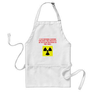 放射性唐辛子のエプロン スタンダードエプロン