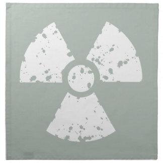 放射性灰灰色 ナプキンクロス
