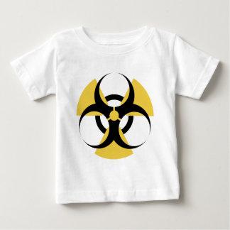 放射性生物学的災害[有害物質] ベビーTシャツ