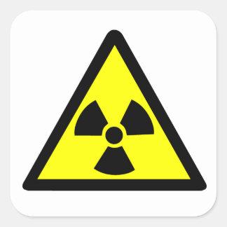 放射性記号 スクエアシール
