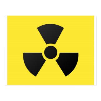 放射性記号 ポストカード