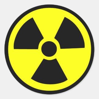 放射性記号 ラウンドシール