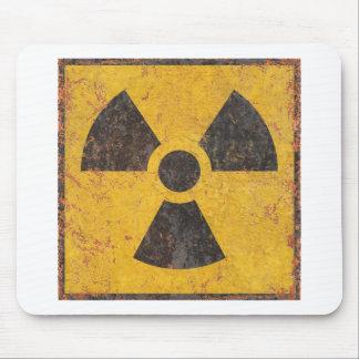 放射性警告標識 マウスパッド