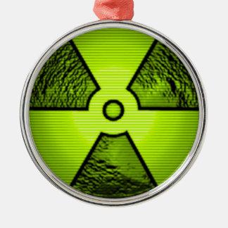 放射性警告 メタルオーナメント