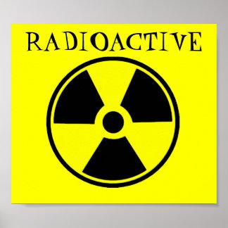 放射性 ポスター