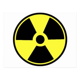 放射性 ポストカード