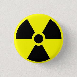 放射性 3.2CM 丸型バッジ
