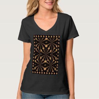 放射状の金春の柱のエレガントなDecoのギフト Tシャツ