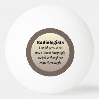 放射線技師の洞察力 卓球ボール