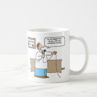 放射線技師はカラオケの漫画のおもしろマグカップを歌います コーヒーマグカップ