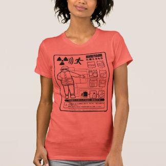 放射能汚染避難に備えるもの Tシャツ