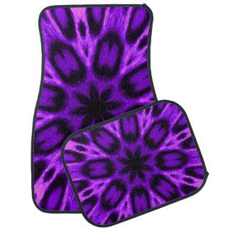 放射蘭によって斑点を付けられるヒョウの万華鏡のように千変万化するパターン カーマット