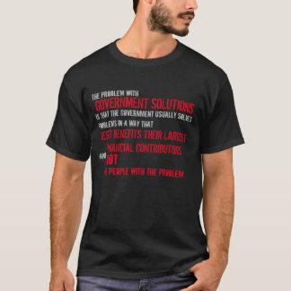 政府の解決 Tシャツ