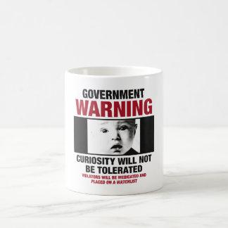 政府の警告のコーヒー・マグ コーヒーマグカップ